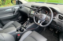 Nissan Qashqai, interior