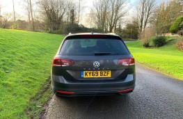 Volkswagen Passat Estate, rear