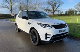 Land Rover Discovery, front