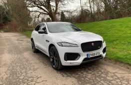 Jaguar F-Pace, front