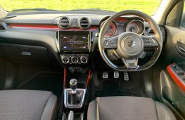 Suzuki Swift Sport, interior