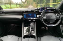 Peugeot 508 SW, interior
