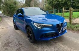 Alfa Romeo Stelvio Quadrifoglio, front