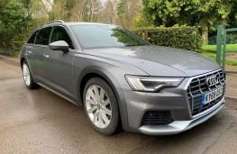 Audi A6 Allroad, front