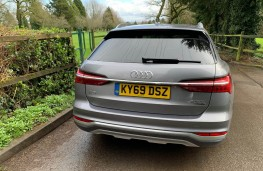 Audi A6 Allroad, rear