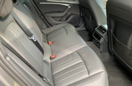Audi A6 Allroad, rear seats