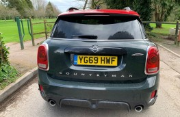 MINI Countryman John Cooper Works, rear