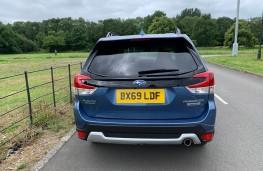 Subaru Forester e-Boxer, rear