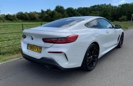 BMW 840d, rear