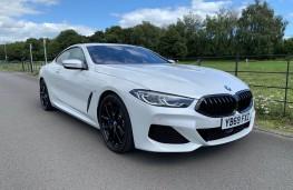 BMW 840d, front