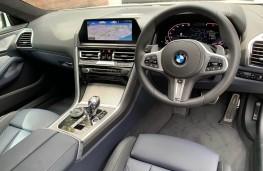 BMW 840d, interior