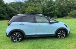 Honda Jazz Crosstar, side