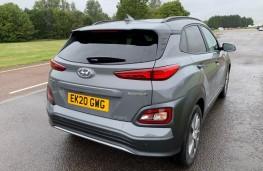 Hyundai Kona Electric, rear