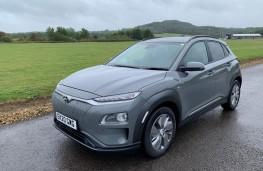 Hyundai Kona Electric, front