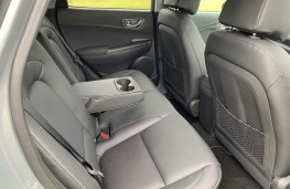 Hyundai Kona Electric, rear seats