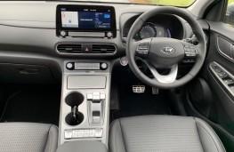 Hyundai Kona Electric, interior