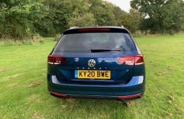 Volkswagen Passat Estate, rear