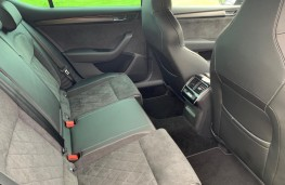 Skoda Superb, rear seats