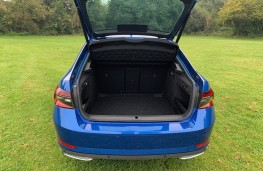 Skoda Superb, boot