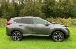 Honda CR-V, side