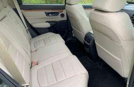 Honda CR-V, rear seats