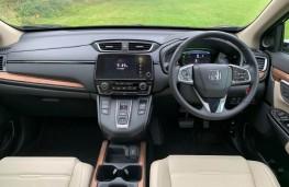 Honda CR-V, interior