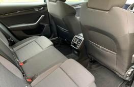 Skoda Octavia, rear seats