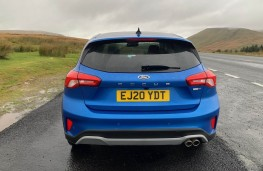 Ford Focus Active X, rear