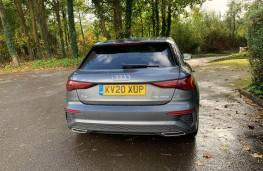 Audi A3 Sportback, rear