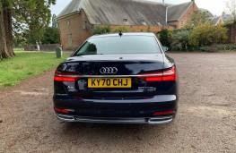 Audi A6 Saloon, rear