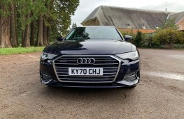 Audi A6 Saloon, front