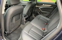 Audi A6 Saloon, rear seats