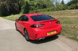 Vauxhall Insignia, rear