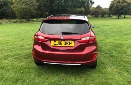 Ford Fiesta Vignale, rear