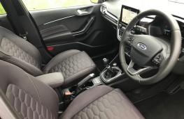 Ford Fiesta Vignale, interior
