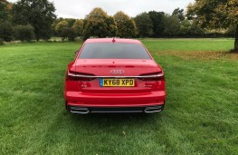 Audi A6 Saloon, rear