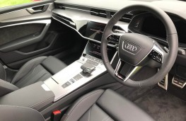 Audi A6 Saloon, interior