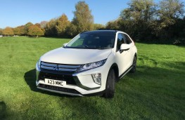 Mitsubishi Eclipse Cross 4, front