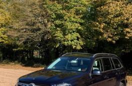 Mercedes GLS, front