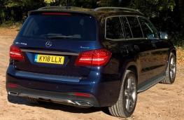 Mercedes GLS, rear