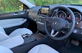 Mercedes GLS, interior