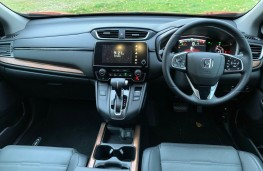 Honda CR-V, interior