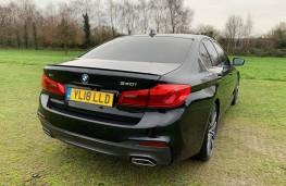 BMW 5-Series, rear