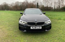 BMW 5-Series, front