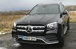Mercedes Benz GLS-Class, front