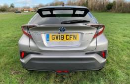 Toyota C-HR, rear