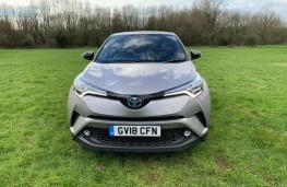 Toyota C-HR, front