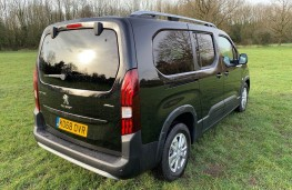 Peugeot Rifter, rear