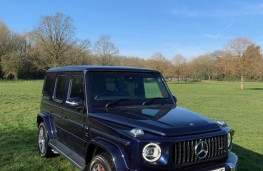 Mercedes-AMG G 63, front
