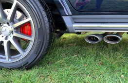 Mercedes-AMG G 63, exhaust